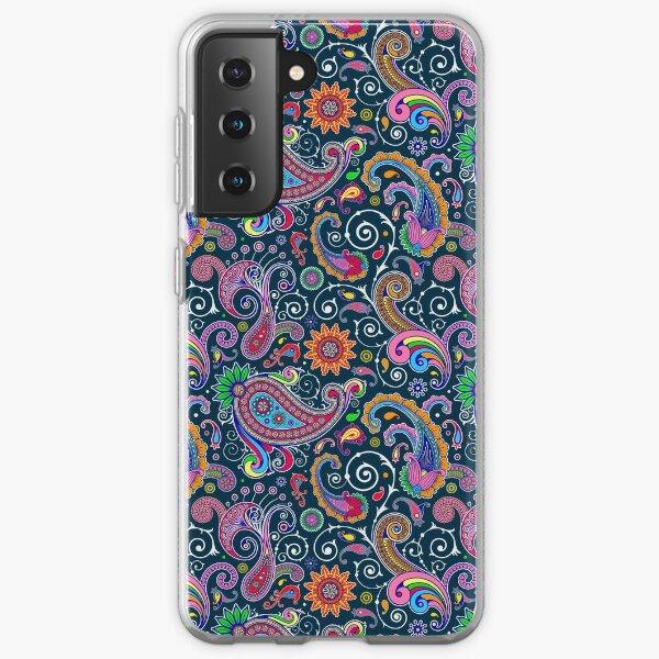 Retro Paisley Pattern Samsung Galaxy Soft Case