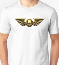 Imperial Skull and Wings Gold T-Shirt