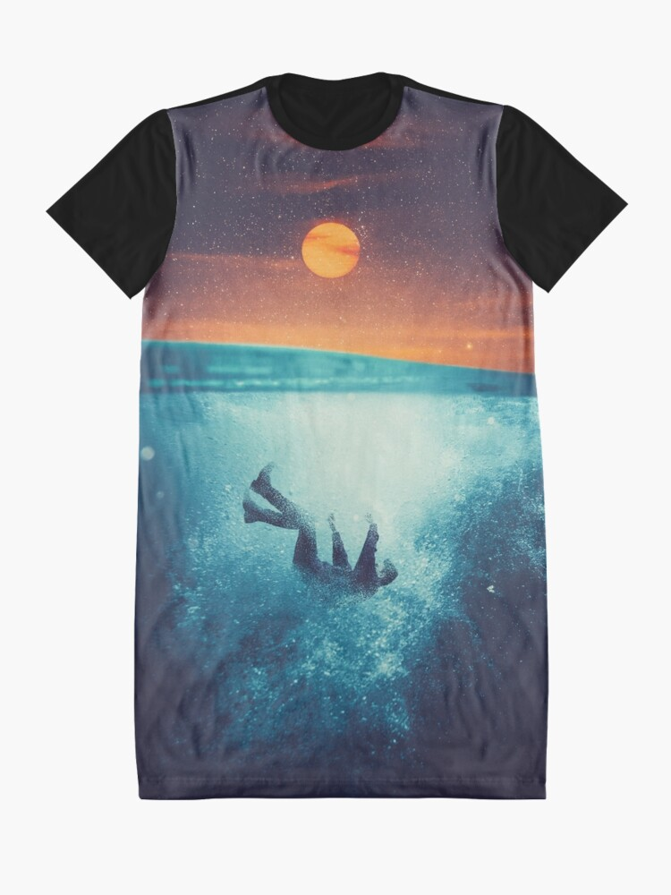 Alternate view of Immergo Graphic T-Shirt Dress