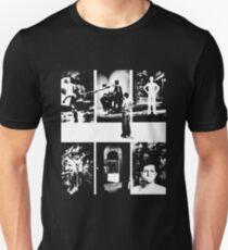 Camiseta ajustada Genesis Band El cordero se acuesta en Broadway - White Stencil