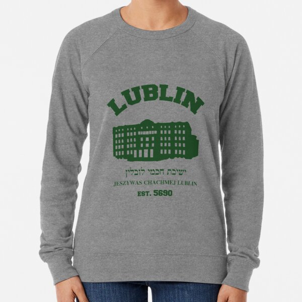 Lublin, the Hasidic Harvard Lightweight Sweatshirt
