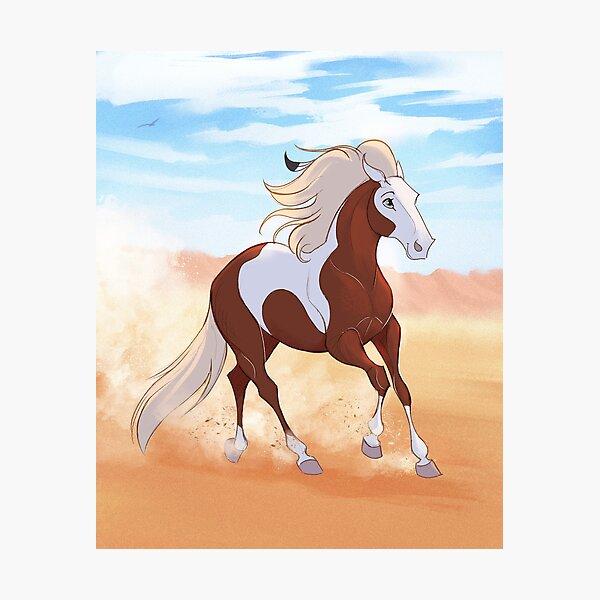Rain - Spirit Stallion of the Cimarron Photographic Print