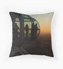 Sunset Eye Throw Pillow