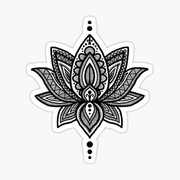 lotus flower Sticker