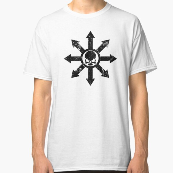 Mark of Chaos Distressed Black Classic T-Shirt