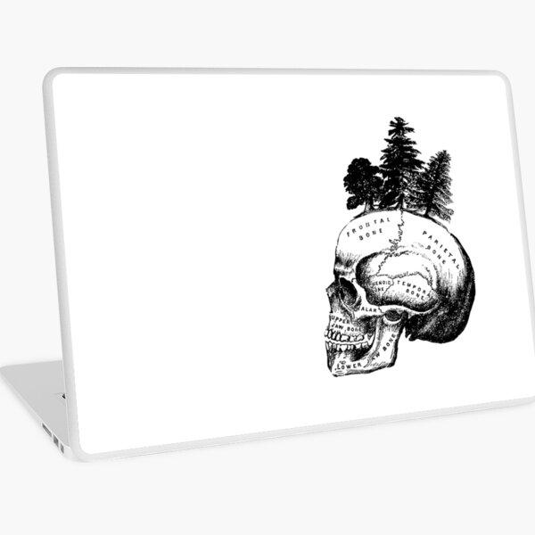Skull Forest Laptop Skin
