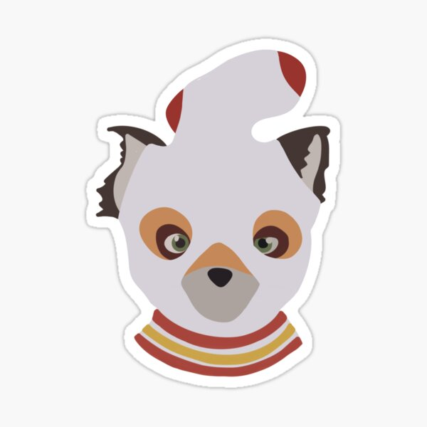 Ash, Fantastic Mr. Fox Sticker