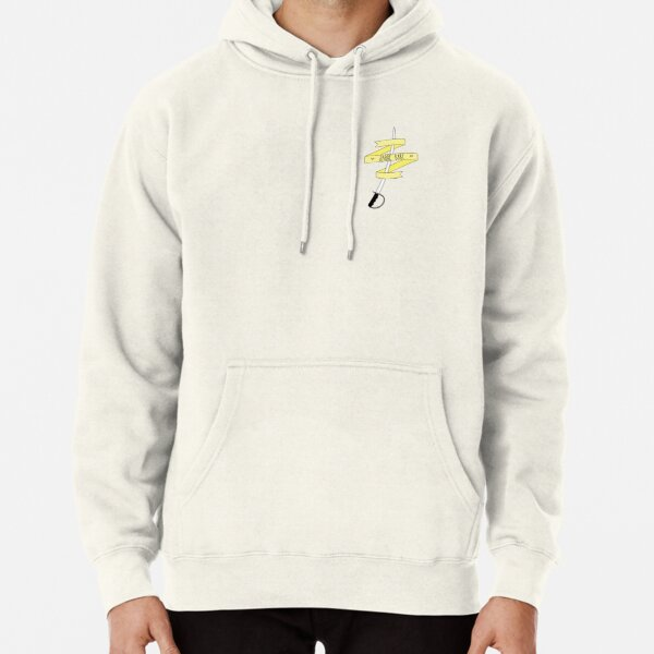 Sabre Babe - Yellow Pullover Hoodie