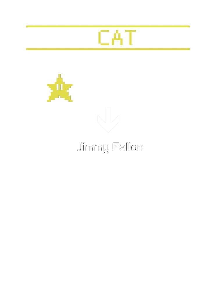 INSERT CAT HERE TO RECHARGE HAPPINESS by Jimmy Fallon
