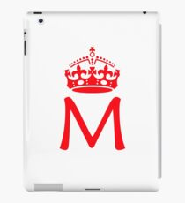 Moriarty in a crown iPad Case/Skin