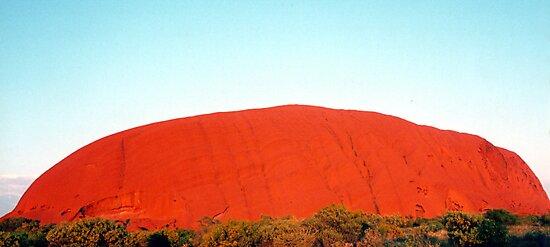 Sunrise at Uluru by Michael John