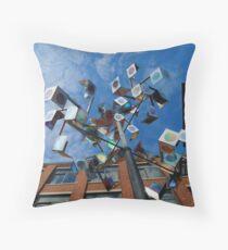 Prism Sculpture Throw Pillow