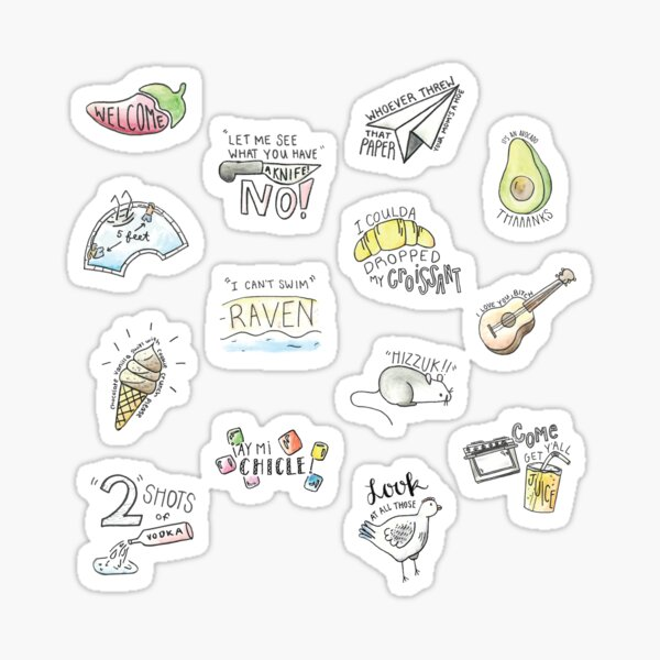 Vine Compilation Sticker