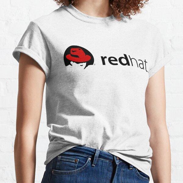 sombrero rojo Camiseta clásica