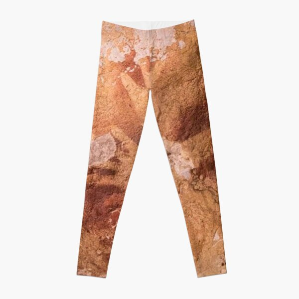 In South Sulawesi, Indonesia, find some of the world's oldest cave art Leggings