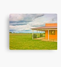 Rural House Canvas Print