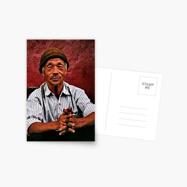 blending in. gangtok, sikkim Postcard