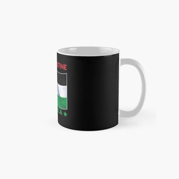 Free Palestine Shirt - Stand With Palestine - Palestinian Shirt - Human Rights - Palestine Flag - Palestine and Israel - Help Palestine Classic Mug