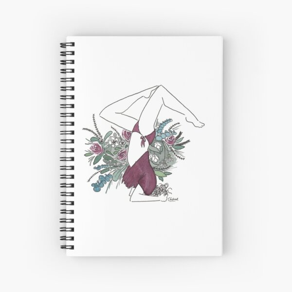 Flower Yogi Cahier à spirale