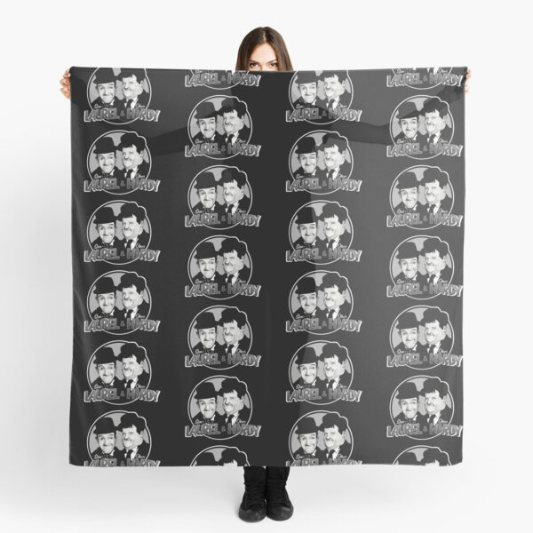 Laurel and Hardy design Scarf
