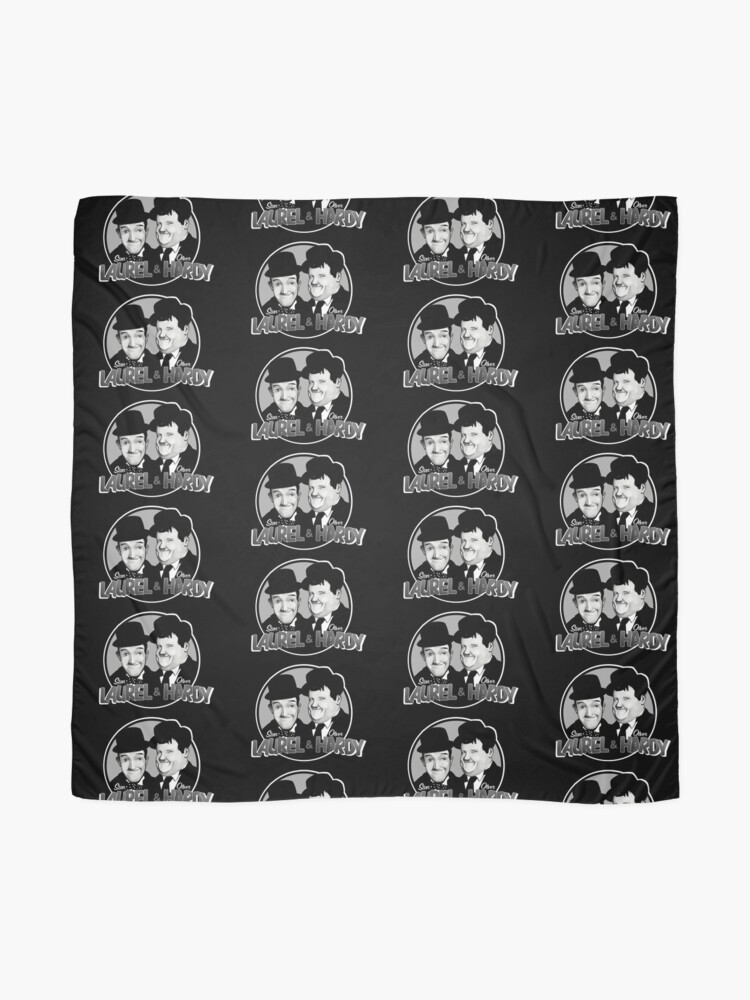 Alternate view of Laurel and Hardy design Scarf