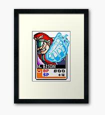 M. Bison - Street Fighter Framed Print