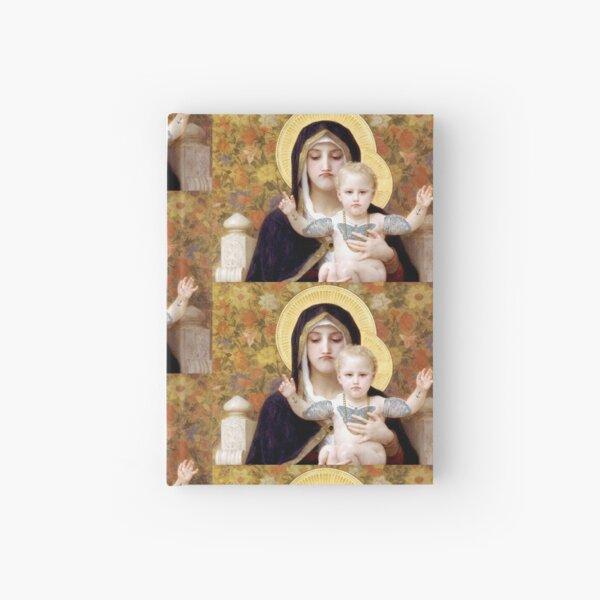 Schlechte Stimmung Maria und Jesus Notizbuch