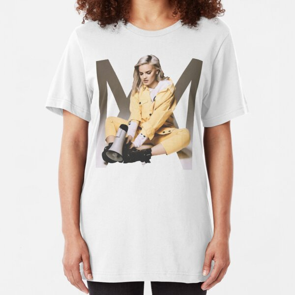 Anne Marie Women/'s Fitted Tank Top Anne Marie T Shirt Speak Your Mind Tour Pink