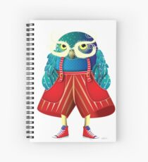 Cuaderno de espiral My Owl Red Pants