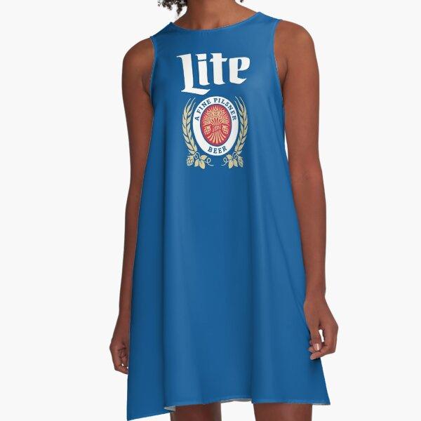 Lite Pilsner beer A-Line Dress