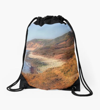 Westward Ho-Jurassic Coast Drawstring Bag