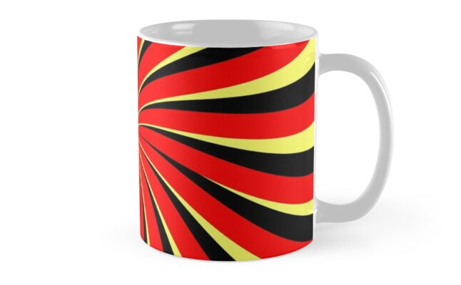 Spiral Black Red Yellow by pASob-dESIGN