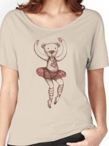Ballerina Teddy Women's Relaxed Fit T-Shirt