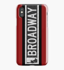 BROADWAY DECO SWING NYC Street Sign  iPhone Case/Skin