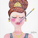 Audrey Hepburn by zephyrra