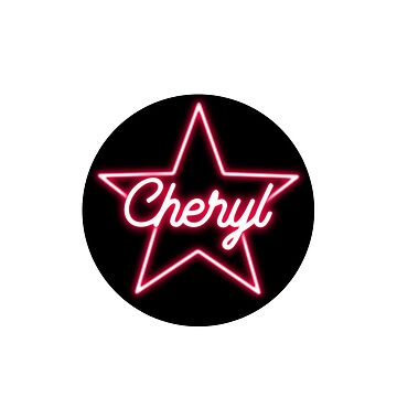 Cheryl First Name Pink Star by xsylx