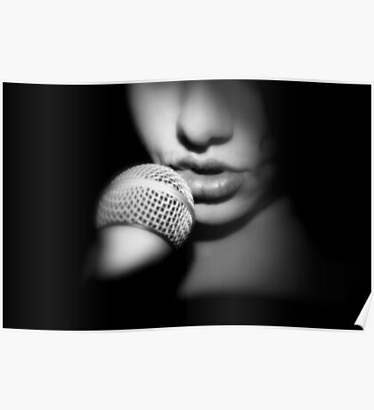 My Lips, His Microphone Poster