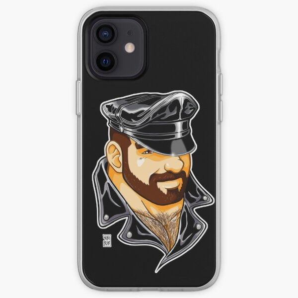 ADAM LIKES LEATHER iPhone Soft Case