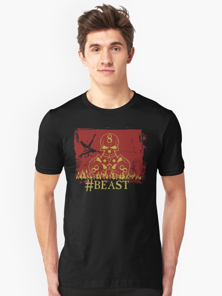 Number of the Beast Unisex T-Shirt Front