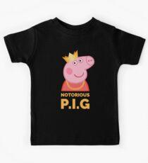 Notorious Peppa Pig Kids T-Shirt
