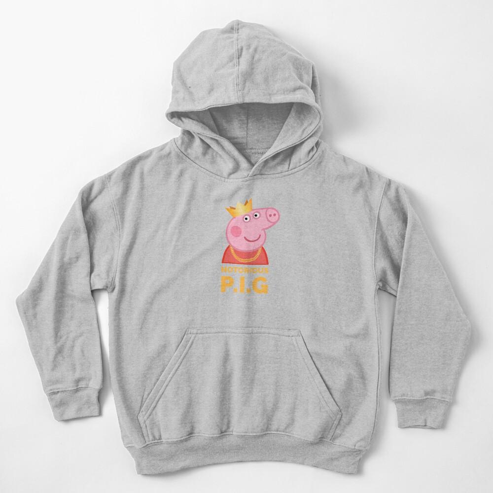 Notorious Peppa Pig Kids Pullover Hoodie