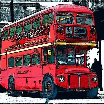 London Bus bywhacky by bywhacky