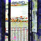 Window of abandoned house by Giuseppe Cocco