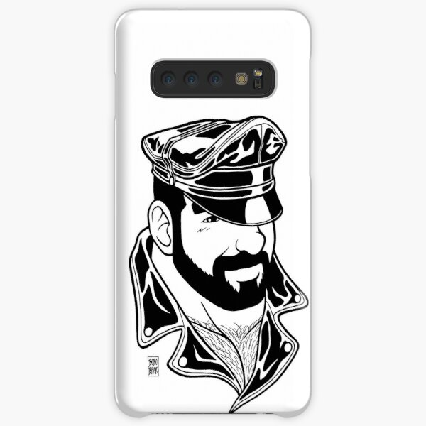 ADAM LIKES LEATHER - LINEART Samsung Galaxy Snap Case