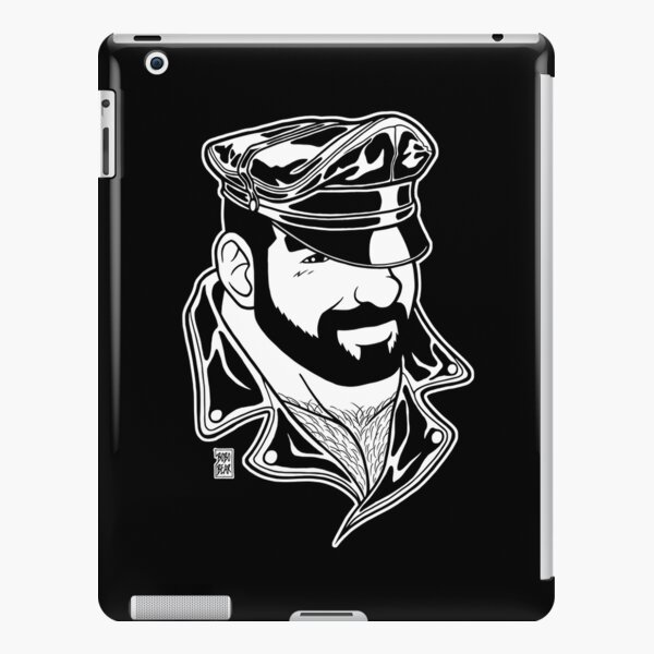 ADAM LIKES LEATHER - LINEART iPad Snap Case