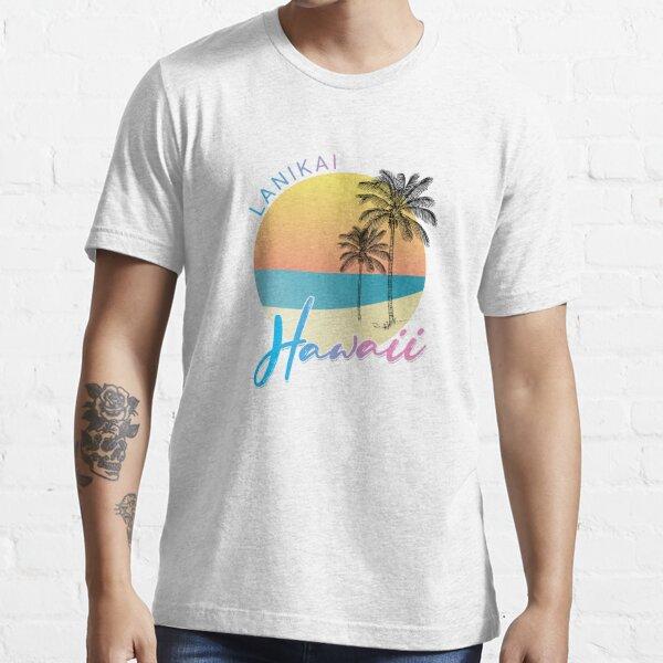 Lanikai Hawaii Surfing Beach Essential T-Shirt