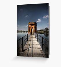 Sywell Reservoir Greeting Card