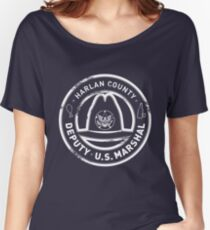 Harlan County Deputy US Marshal Grunge Women's Relaxed Fit T-Shirt