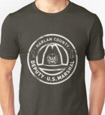 Harlan County Deputy US Marshal Grunge Slim Fit T-Shirt