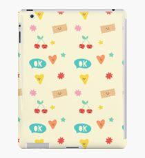 Happy Pattern iPad Case/Skin